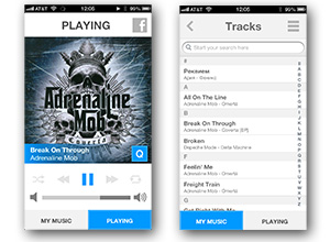 MyMusicCloud iPhone App